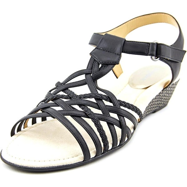 Easy Spirit Malawi Women Black Sandals