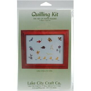 Quilling Kit-Little Critters