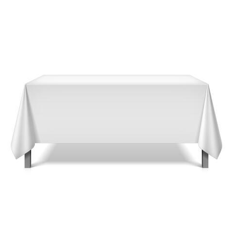 Mariposa Spun Polyester Tablecloths (6-Pack)