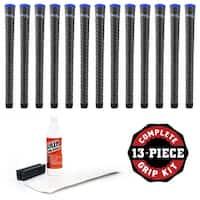 "Winn Dri-Tac Wrap Midsize +1/16"" - 13 pc Golf Grip Kit (with tape, solvent, vise clamp)"