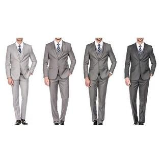 Men's 3 Pcs set Slim Fit Suit( Coat+Vest+Pant)