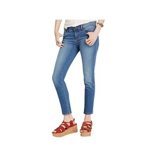 Free People Womens Skinny Jeans Roller Cropped