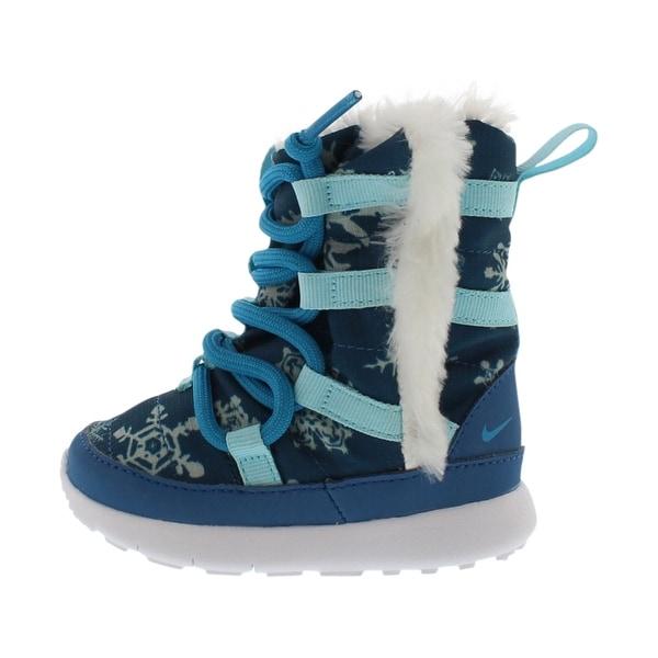 e33a5ca431b21 Shop Nike Roshe One Hi Print Sneaker Boots Infant s Shoes - Free ...