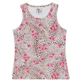 Pulla Bulla Printed Tank Top for girls ages 2 -10 years