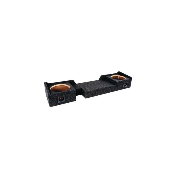 ATREND ATRA37210CPB B Box Series 10 Subwoofer Boxes For Ford Vehicles dual Downfire