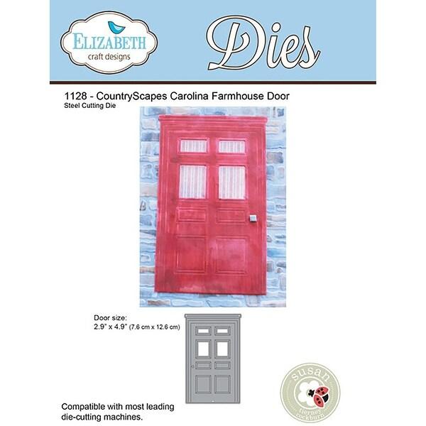 "Elizabeth Craft Metal Die-Farmhouse Door, 2.9""X4.9"""