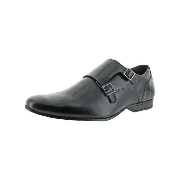 Kenneth Cole Reaction Mens DESIGN21184 Monk Shoes Double Strap Dress - 10.5 medium (d)