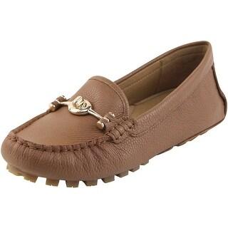 Coach Womens Arlene Leather Closed Toe Loafers