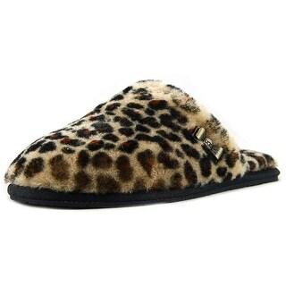 Ugg Australia W Leopard Clog Women Round Toe Canvas Slipper