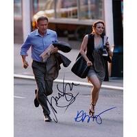 Signed Morning Glory Harrison Ford  Rachel McAdams 8x10 Photo by Harrison Ford  Rachel McAdams auto