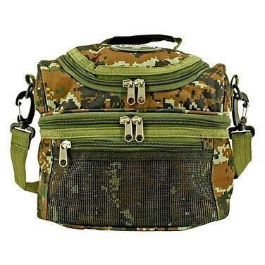 Tactical Lunch Bag Green Digital Camo