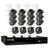Defender HD 1080p 16 Channel 2TB DVR Security System and 16 Bullet Cameras with Mobile Viewing