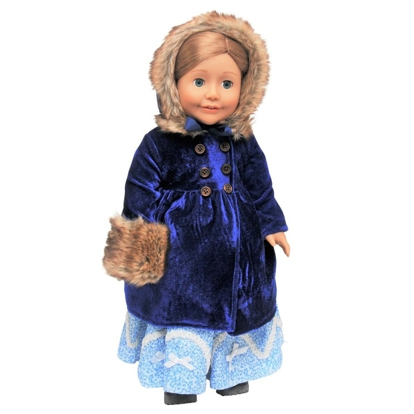 Doll Clothes Leggings Brown Velvety Velour Fit 18 inch American Girl Doll