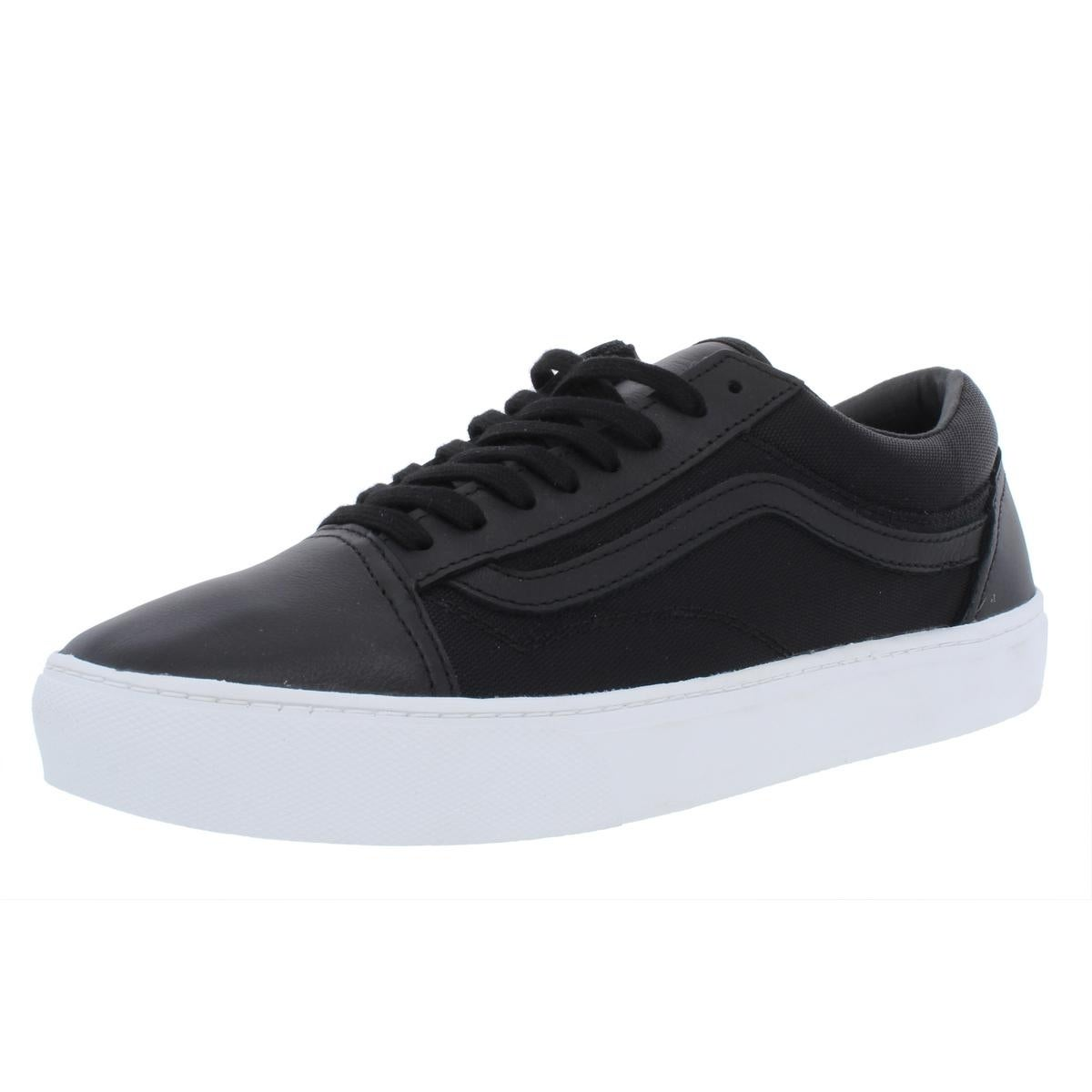 Schuhe Skool Fashion Old Vans Shops Leder Cup Weiß Herren
