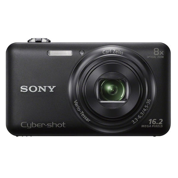 Sony Cyber-shot DSC-WX80 16.1MP Digital Camera (Black)