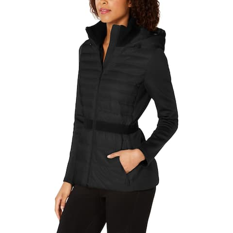Calvin Klein Performance Womens Down Coat Hooded Active - M