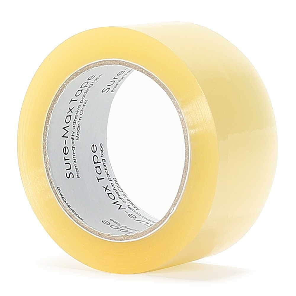 """3 mil Clear Carton Sealing Packing Tape 72 mm x 110 yds 24 Rolls 3/"""" x 330/'"""
