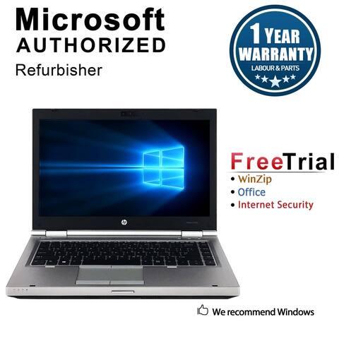 "Refurbished HP EliteBook 8470P 14.0"" Intel Core i5-3320M 2.60GHz 4GB DDR3 1 TB DVD Windows 10 Pro 64 Bits 1 Year Warranty"