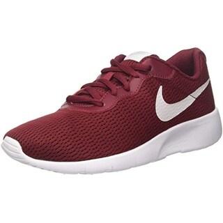 Nike Boys' Tanjun (Bg) Trainers, (Team Red/Vast Grey White 601)