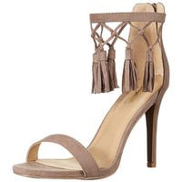 Qupid Women's High-Heel Dress Sandal - 8