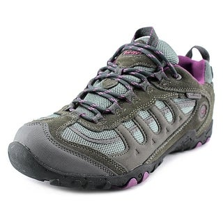 Hi-Tec Penrith Low WP Women Round Toe Suede Hiking Shoe