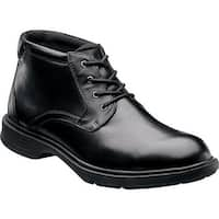 Florsheim Men's NDNS Chukka Boot Black Leather