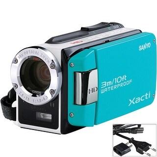 Sanyo VPC-WH1 Dual Camera Xacti Camcorder (Blue)