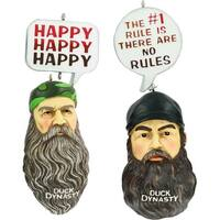 Duck Dynasty Ornament Set - Jase & Phil