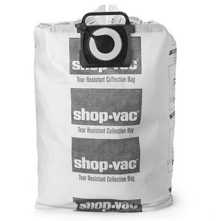 Shop-Vac 9021433 Tear Resistant Collection Filter Bags, 12-20 Gallon
