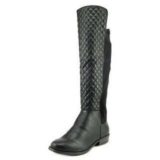 Rampage Ivoly Women Round Toe Synthetic Black Knee High Boot