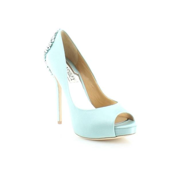 Badgley Mischka Kiara Women's Heels Blue - 6.5