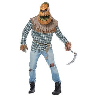 shop adult hunted harvest pumpkin halloween costume free shipping today overstockcom 20957376