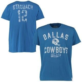 Dallas Cowboys Roger Staubach Gordon Tshirt Small