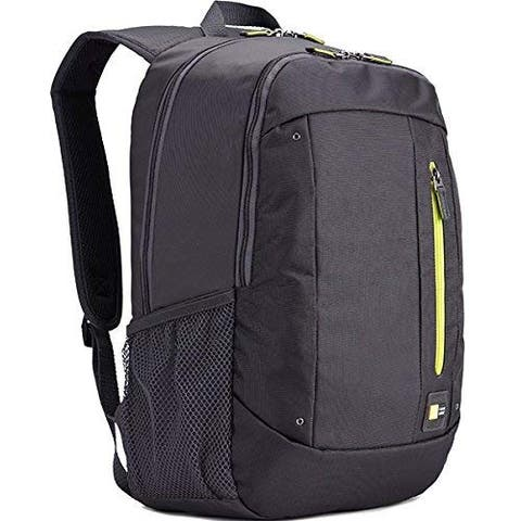 "Case Logic 15.6"" Laptop and Tablet Backpack - Anthracite - Grey - 18.4 x 13 x 2.6"