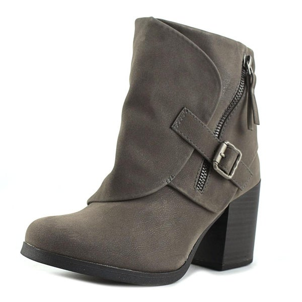 Blowfish Daxx Women Round Toe Synthetic Gray Ankle Boot