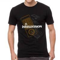 Intellivision Controller Men's Black T-shirt