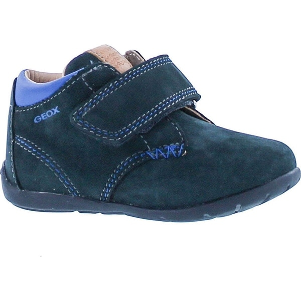 Geox Boys Keytan Baby First Walker Casual Shoes - Navy