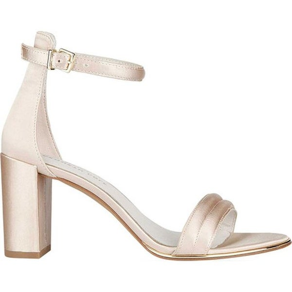 db1b13d870c Shop Kenneth Cole New York Women s Lex Sandal Champagne Satin - On Sale -  Free Shipping Today - Overstock - 19473698