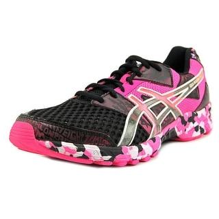 Asics Gel-Noosa Tri 8 Men Round Toe Synthetic Pink Running Shoe