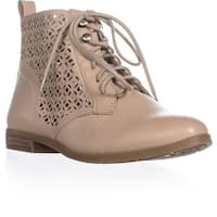 Lucky Brand Hirro Perforated Block Heel Oxfords, Nomad
