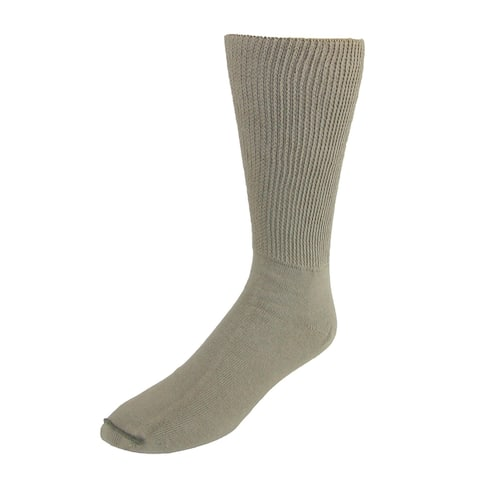 Extra Wide Sock Co. Men's Cotton Medical Support Socks