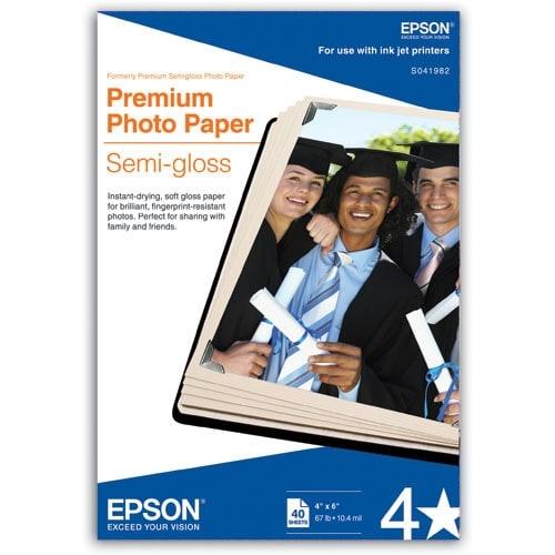 """Epson Semigloss Premium Photo Paper Semi-gloss Photo Paper"""