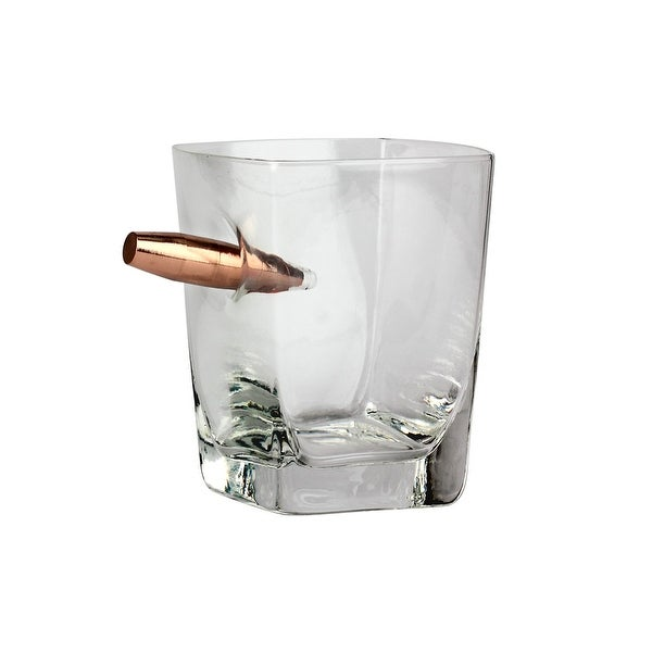 Urban Trend UTU3BR0166 Barbuzzo Last Man Standing Bullet Whiskey Glass