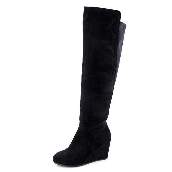 540260e7395f ... Chinese Laundry Z Unforgettable Women Synthetic Black Over the Knee Boot
