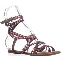 Indigo Rd. Camryn Flat Casual Sandals, Natural Multi