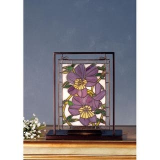 Meyda Tiffany 68409 Stained Glass Tiffany Window from the Pansies Collection|https://ak1.ostkcdn.com/images/products/is/images/direct/17582702eafe6e5ee26f6f0f7cde07e3a9b061da/Meyda-Tiffany-68409-Stained-Glass-Tiffany-Window-from-the-Pansies-Collection.jpg?impolicy=medium