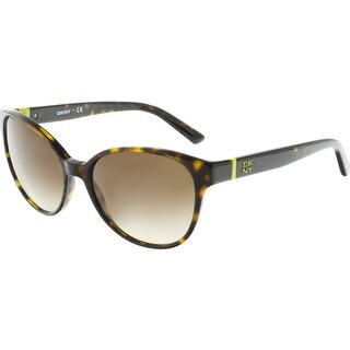 Dkny Women's DY4117-301613-55 Brown Butterfly Sunglasses