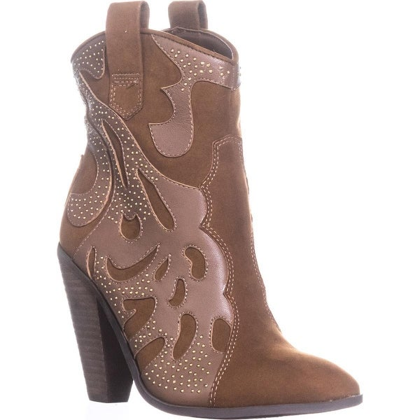Carlos by Carlos Santana Sterling Cowboy Boots, Brown - 5.5 us / 35.5 eu