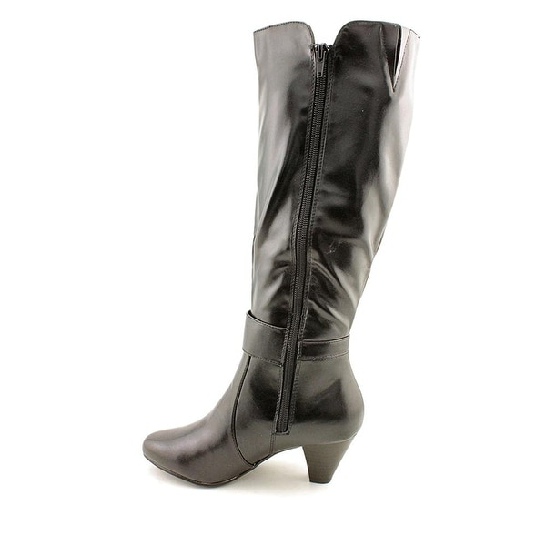 Karen Scott Womens Jacky Almond Toe Mid-Calf Fashion Boots