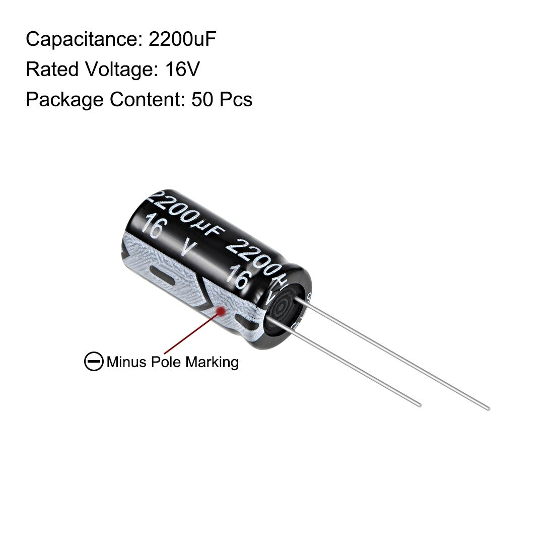 --CDE CAPACITOR 2200 UF 100V Pack of 5
